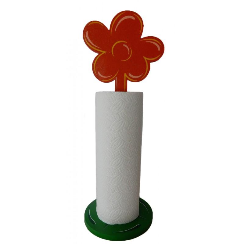 support fleur orange. Black Bedroom Furniture Sets. Home Design Ideas