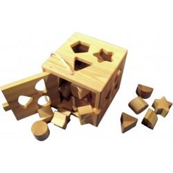 Boite de jeu en bois